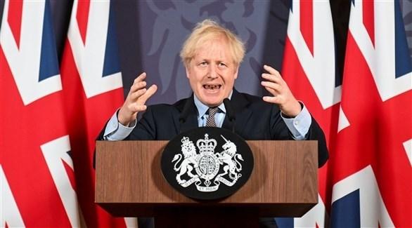رئيس الوزراء البريطاني بوريس جونسون  (رويترز)