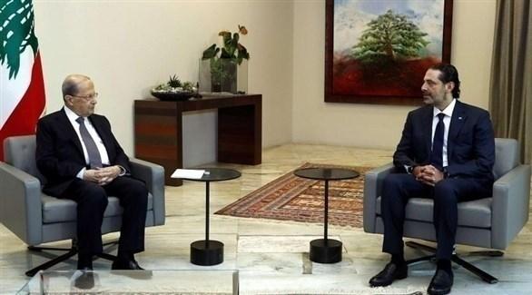 رئيس الوزراء اللبناني المكلف والرئيس اللبناني (أرشيف)