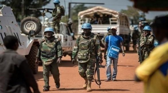 قوات حفظ السلام في إفريقيا الوسطى (أرشيف)