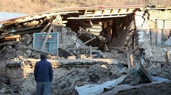 آثار دمار خلفه زلزال سابق في تركيا (أرشيف)