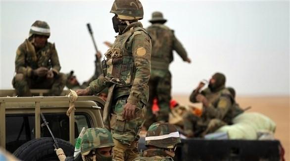 عناصر من الاستخبارات العراقية (أ ف ب)