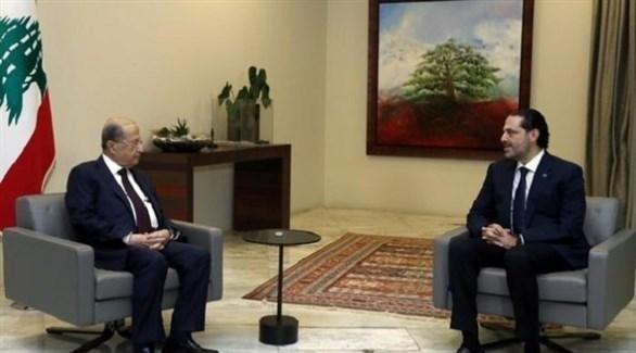 اجتماع بين الحريري وميشال عون (أرشيف)