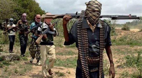 مقاتلون في جماعة بوكوحرام الإرهابية (أرشيف)