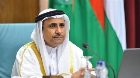 رئيس البرلمان العربي عادل العسومي (أرشيف)