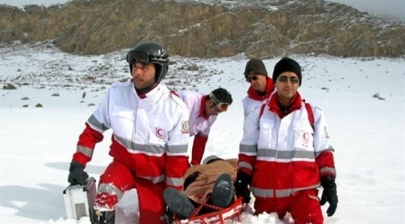 إخلاء قتيل في مرتفعات طهران (أرشيف)