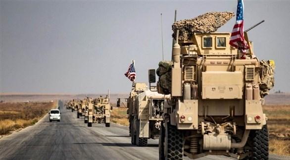 رتل عسكري لقوات التحالف الدولي في العراق (أرشيف)
