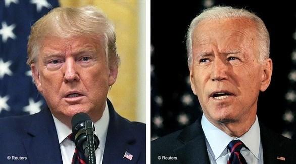 الرئيس الأمريكي دونالد ترامب والرئيس المنتخب جو بايدن (أرشيف)