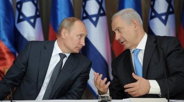رئيس الوزارء الإسرائيلي بنيامين نتانياهو والرئيس الروسبي فلاديمير بوتين (أرشيف)
