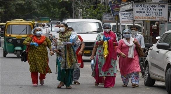 هنديات في دلهي (أرشيف)