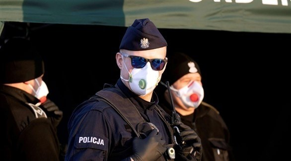 عناصر من الشرطة البولندية (أرشيف)