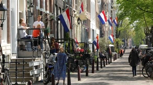 هولنديون في أمستردام (أرشيف)