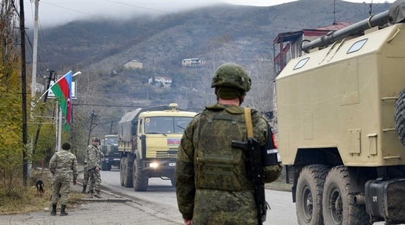 جنود من الجيش الأذري في قره باخ (أرشيف)