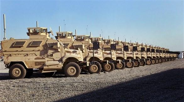 مدرعات أمريكية في العراق (أرشيف)