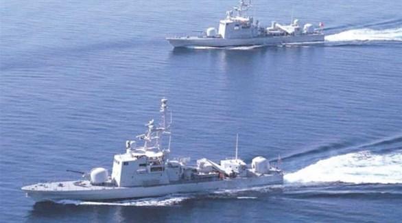 سفن حربية من سلاح البحرية الملكية في البحرين (أرشيف)