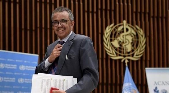 المدير العالم لمنظمة الصحة العالمية تيدروس أدهانوم (أرشيف)