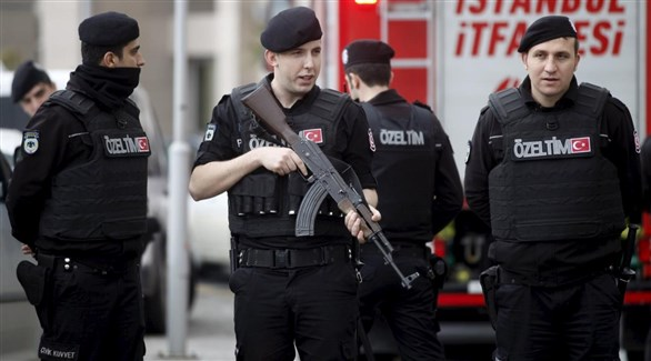عناصر من الشرطة التركية في إسطنبول (أرشيف)