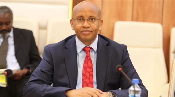 وزير الإعلام الصومالي عثمان أبو بكر دبي (أرشيف)