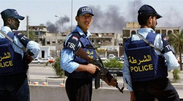 عناصر من الشرطة العراقية في بغداد (أرشيف)