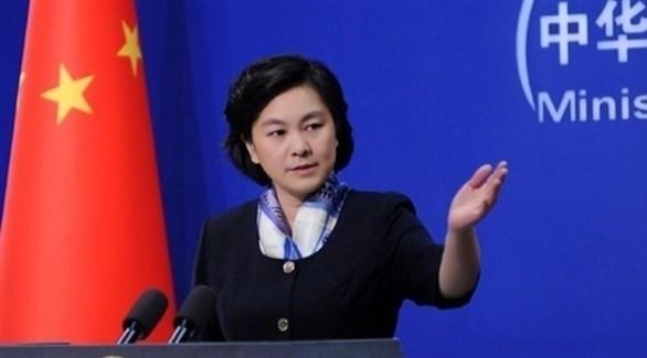 المتحدثة باسم وزارة الخارجية هوا تشون ينغ (أرشيف)
