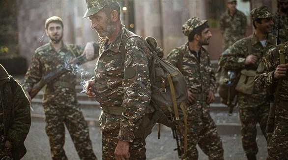 جنود من الجيش الأذري (أرشيف)