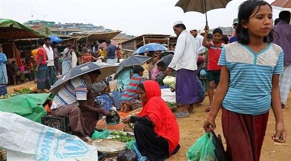 لاجؤون روهينجا في بنغلاديش (أرشيف)