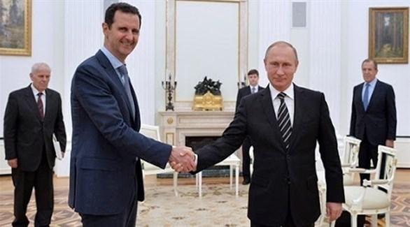 بوتين وبشار الأسد (أرشيف)
