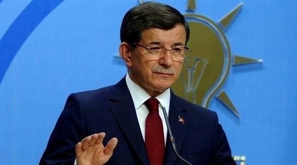 رئيس حزب المستقبل التركي، أحمد داود أوغلو (أرشيف)