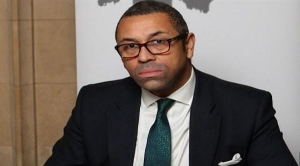 وزير شؤون الشرق الأوسط في الخارجية البريطانية  جيمس كليفرلي (أرشيف)