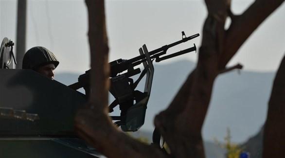 جندي أذري في ناغورني قرة باغ (أرشيف)