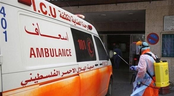 سيارة إسعاف فلسطينية