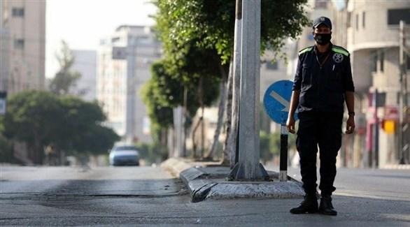 شوارع خالية في غزة خلال حظر تجول سابق (أرشيف)