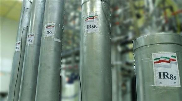 أجهزة طرد مركزي في منشأة نووية إيرانية (أرشيف)