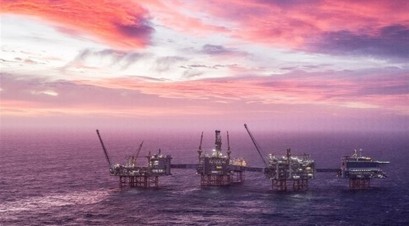 استثمار حقل نفطي في بحر الشمال قبالة السواحل النرويجية (رويترز)