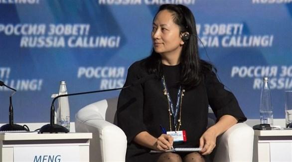 المديرة المالية لهواوي الموقوفة في كندا مينغ وانتشو (أرشيف)