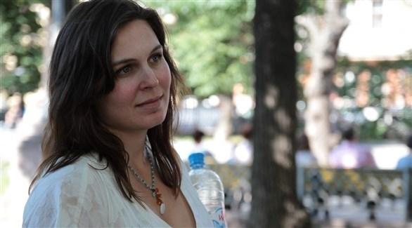 الناشطة الأمريكية المطرودة من روسيا فانيسا كوغان (أرشيف)