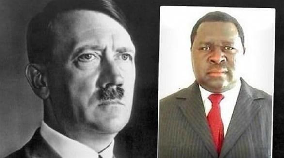 البرلماني الناميبي والزعيم النازي أدولف هتلر (تويتر)