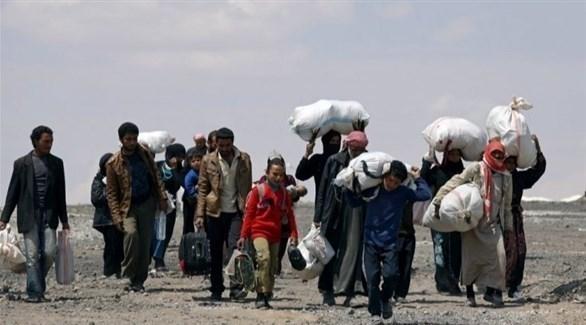 لاجئون في طريقهم إلى أوروبا (أرشيف)