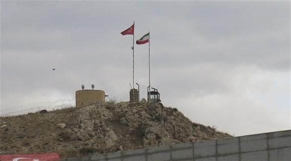 جانب من الجدار التركي على الحدود مع إيران (أرشيف)