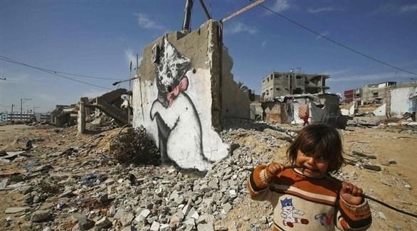 طفلة فلسطينية في قطاع غزة (أرشيف)