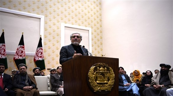 رئيس مجلس المصالحة الوطنية الأفغاني عبدالله عبدالله (أرشيف)