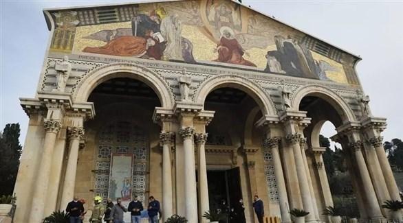 واجهة كنيسة الجثمانية  (أرشيف)
