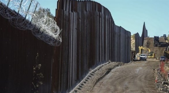 الجدار الحدودي بين أمريكا والمكسيك (أرشيف)
