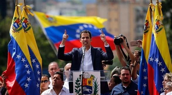 رئيس البرلمان الفنزويلي خوان غوايدو (أرشيف)