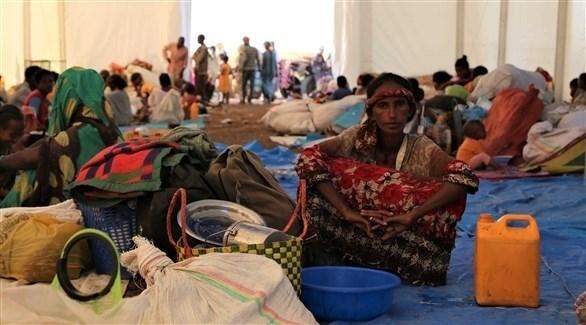 لاجئون من إثيوبيا (أرشيف)