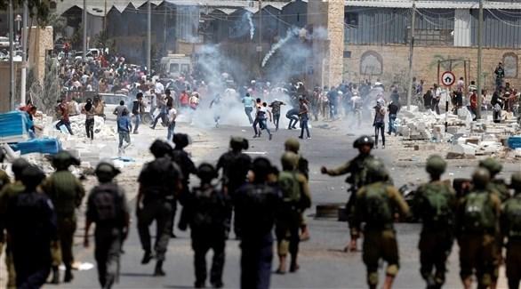 مواجهات بين فلسطينيين والجيش الإسرائيلي (أرشيف)