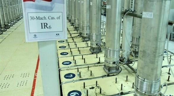 من منشأة تخصيب اليورانيوم في نطنز وسط إيران (أرشيف)