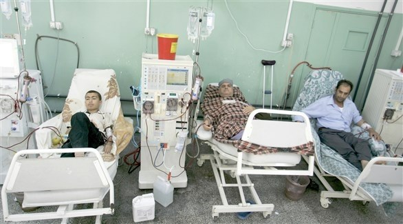 مرضى في أحد المستشفيات في قطاع غزة (أرشيف)