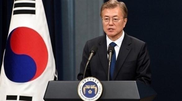 الرئيس الكوري الجنوبي مون جاي إن (أرشيف)