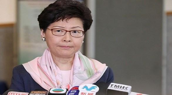 الرئيسة التنفيذية لهونغ كونغ كاري لام (ارشيف)