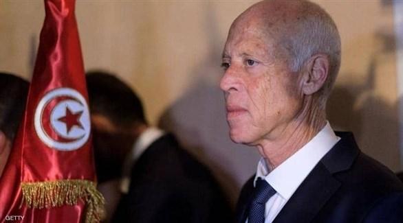 الرئيس التونسي قيس سعيّد (أرشيف)